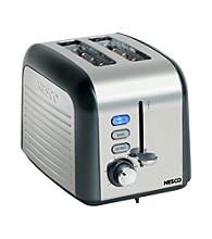Nesco® Stainless Steel Two Slice Toaster