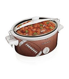 Hamilton Beach® 6-qt. Stay or Go Portable Football Slow Cooker