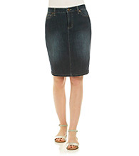 Nine West Vintage America Collection® Denim Pencil Skirt