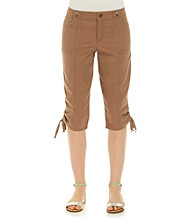 Nine West Jeans® Stanford Twill Cropped Pants