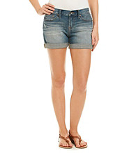 Lucky Brand® Abbey Double Rolled Jean Shorts