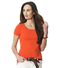 Jones New York Sport® Coral Tee