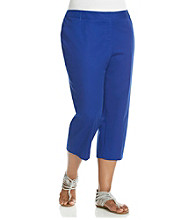 Rafaella® Plus Size Slim Solid Color Carpi
