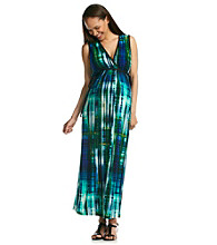 Three Seasons Maternity™ Surplice Maxi Dress