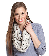 The Accessory Collective Juniors' Mustache Scarf