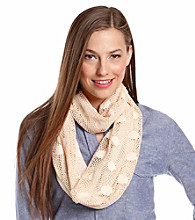 The Accessory Collective Juniors' Crochet Infinity Scarf