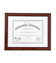 Malden Wooden Matted Document Frame