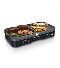 Hamilton Beach® Dual Zone 3-in-1 Griddle/Grill