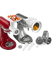 KitchenAid® 3-pc. Grinder, Slicer & Sausage Stuffer Attachment Set