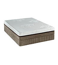 Stearns & Foster® Primera Monogram Gel Memory Foam Plush Mattress