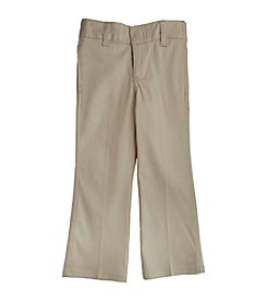 French Toast® Girls' 4-16 Khaki Stretch Twill Pants