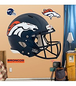 NFL® Denver Broncos Revolution Helmet Wall Graphic by Fathead®