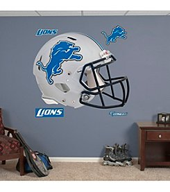 NFL® Detroit Lions Revolution Helmet Wall Graphic by Fathead®