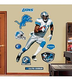 NFL® Detroit Lions Calvin Johnson Real Big Wall Graphic