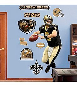 NFL® New Orleans Saints Drew Brees Real Big Wall Graphic