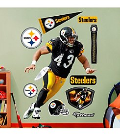 NFL® Pittsburgh Steelers Troy Polamalu Wall Graphic by Fathead®