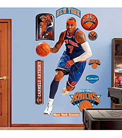 NBA® New York Knicks Carmelo Anthony Real Big Wall Graphic