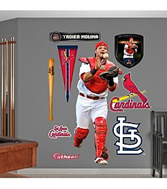 MLB® St. Louis Cardinals Yadier Molina Real Big Wall Graphic