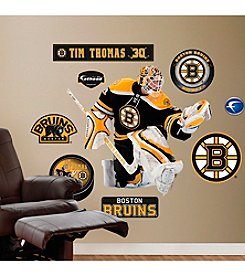 NHL® Boston Bruins Tim Thomas Wall Graphic