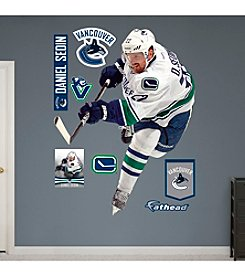 NHL® Vancouver Canucks Daniel Sedin Wall Graphic by Fathead®