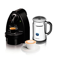 Nespresso® Essenza Manual Espresso Maker & Aeroccino Milk Frother Set