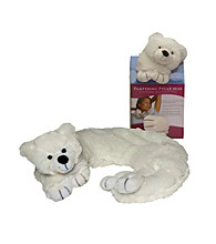 DreamTime® Spa Comforts White Pampering Polar Bear Aromatherapy Wrap