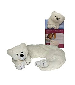 Spa Comforts by DreamTime® White Pampering Polar Bear Aromatherapy Wrap