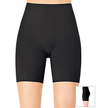 ASSETS® Red Hot Label™ by Spanx Black Flipside Firmer Mid-Thigh