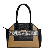 Guess Bellville Multi Print Satchel