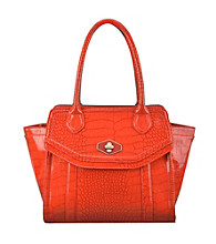 Nine West® Papaya Madagascar Mix Medium Tote