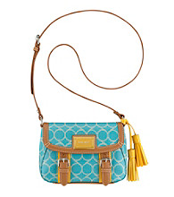 Nine West® Printed Nines Small Flap Crossbody