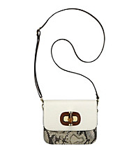 AK Anne Klein® Grey Snake Charm Small Crossbody
