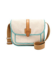 Fossil® Natural Shay Flap Crossbody