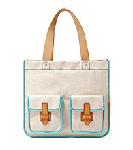 Fossil® Natural Shay Shopper