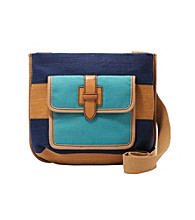Fossil® Shay Top Zip Colorblocked Crossbody