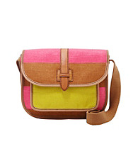 Fossil® Shay Colorblocked Flap Crossbody
