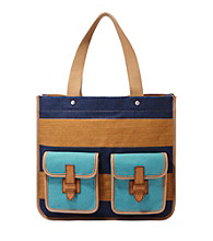 Fossil® Shay Colorblocked Shopper