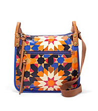 Fossil® Starburst Key-Per Crossbody