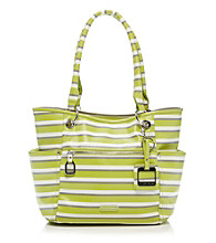 Tyler Rodan™ Lime Stripe Full Bloom Tote