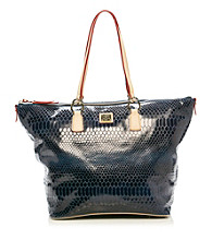 Dooney & Bourke® O-Ring Snakeskin Shopper