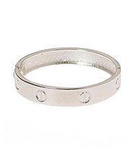 L&J Accessories Polished Silver Bangle