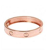 L&J Accessories Rose Gold Bangle