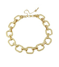 Kenneth Cole® Goldtone Square Link Necklace