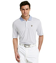 Faldo® Men's Short Sleeve Fine Stripe Golf Polo