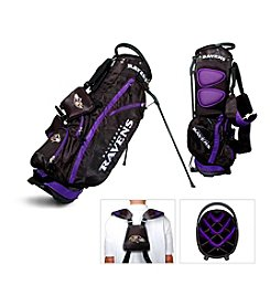 Baltimore Ravens Black/Purple Fairway Stand Bag