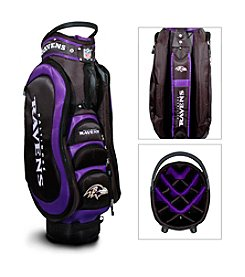 Baltimore Ravens Black/Purple Medalist Cart Bag