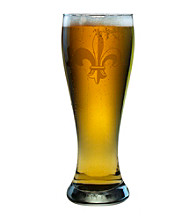Susquehanna Glass Fleur De Lis Collection Set of 4 Weizenbier Pilsner