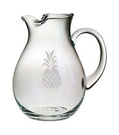 Susquehanna Glass Pineapple Collection Classic Pitcher