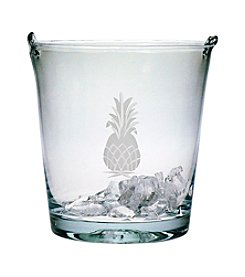 Susquehanna Glass Pineapple Collection Ice Bucket