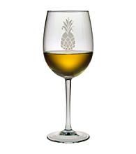 Susquehanna Glass Pineapple Collection Set of 4 All-Purpose Wine Glasses